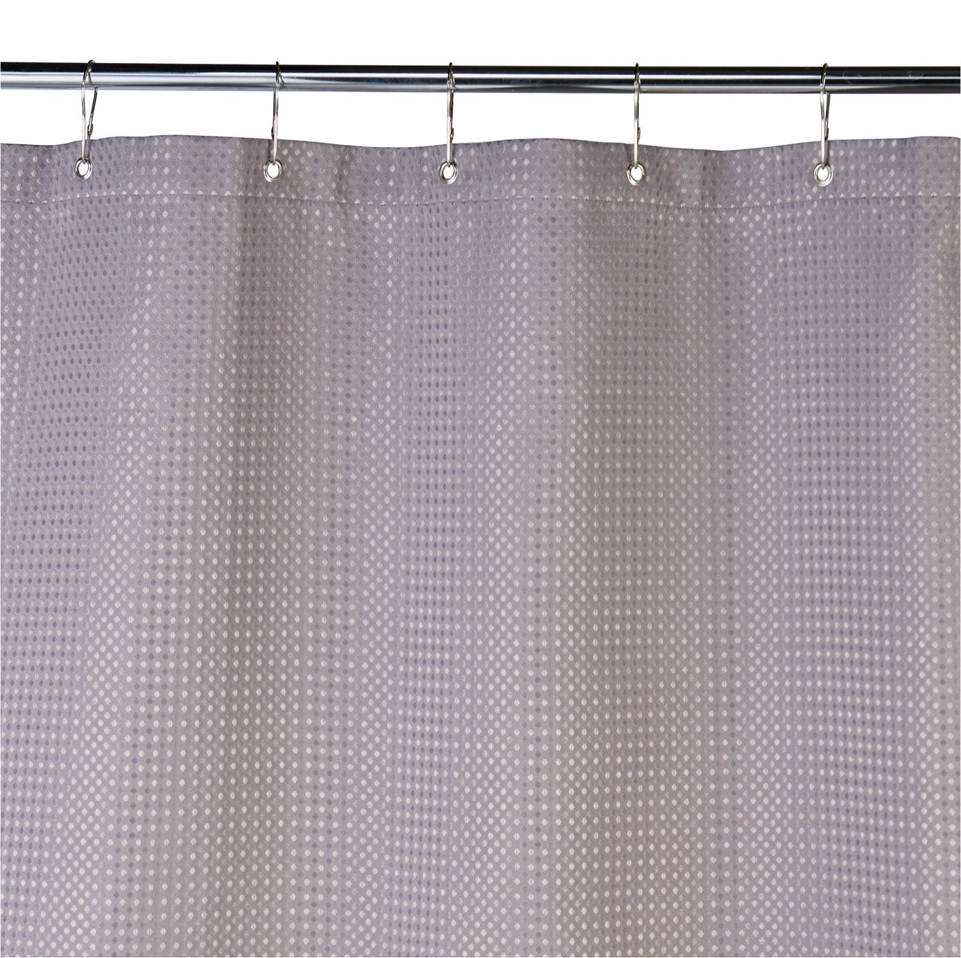 Buy Argos Home Shower Curtain Grey Waffle Shower Curtains And