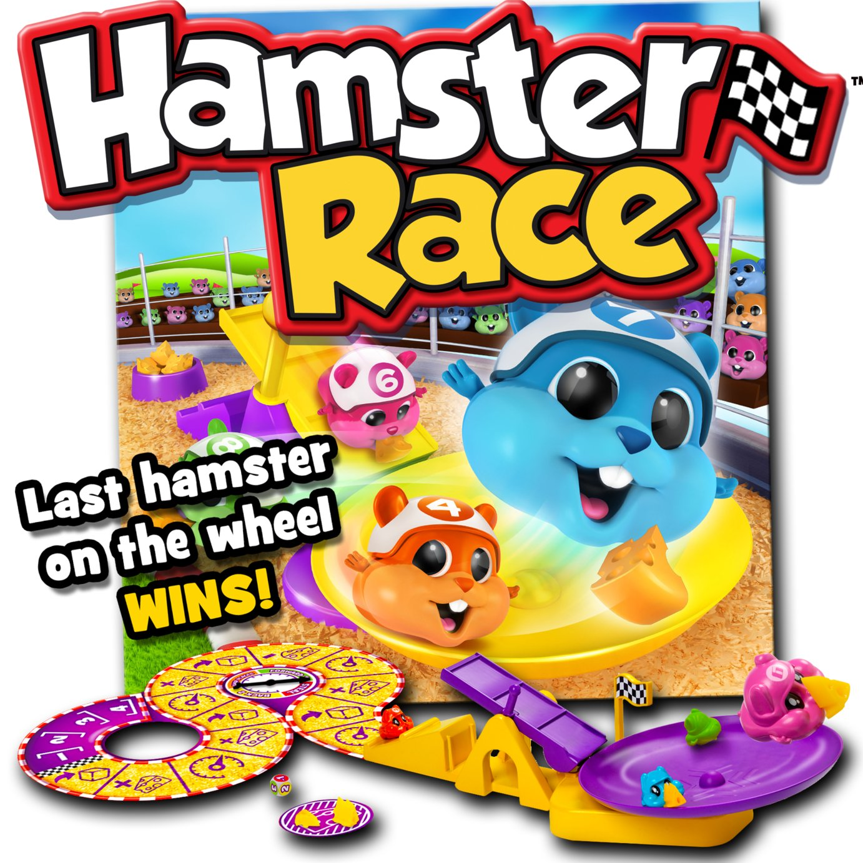 Hamster Race Board Game