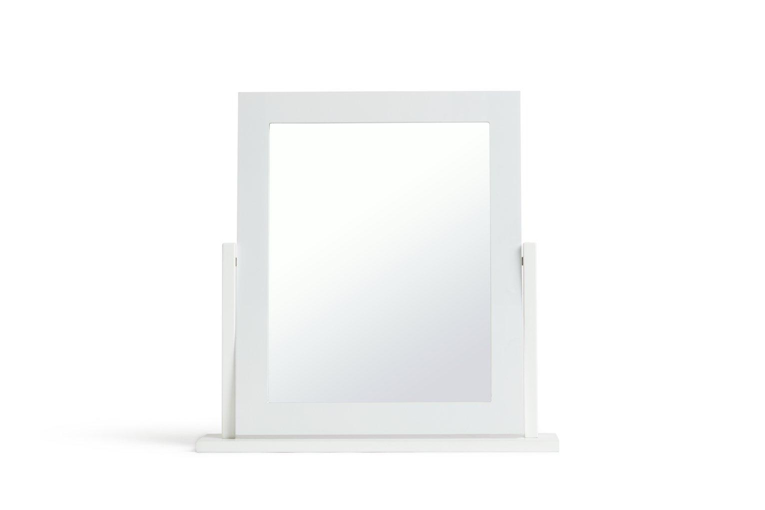Argos Home Square Dressing Table Mirror - White