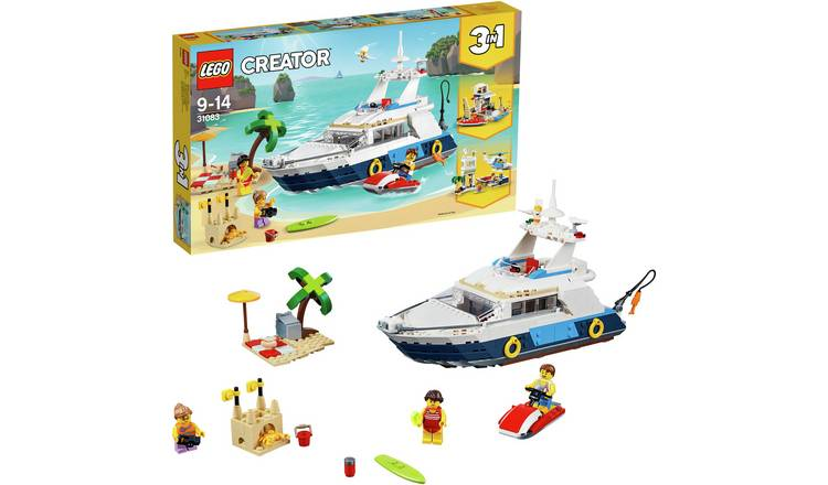 Buy Lego Creator Cruising Adventures 3in1 Model Fun Toy