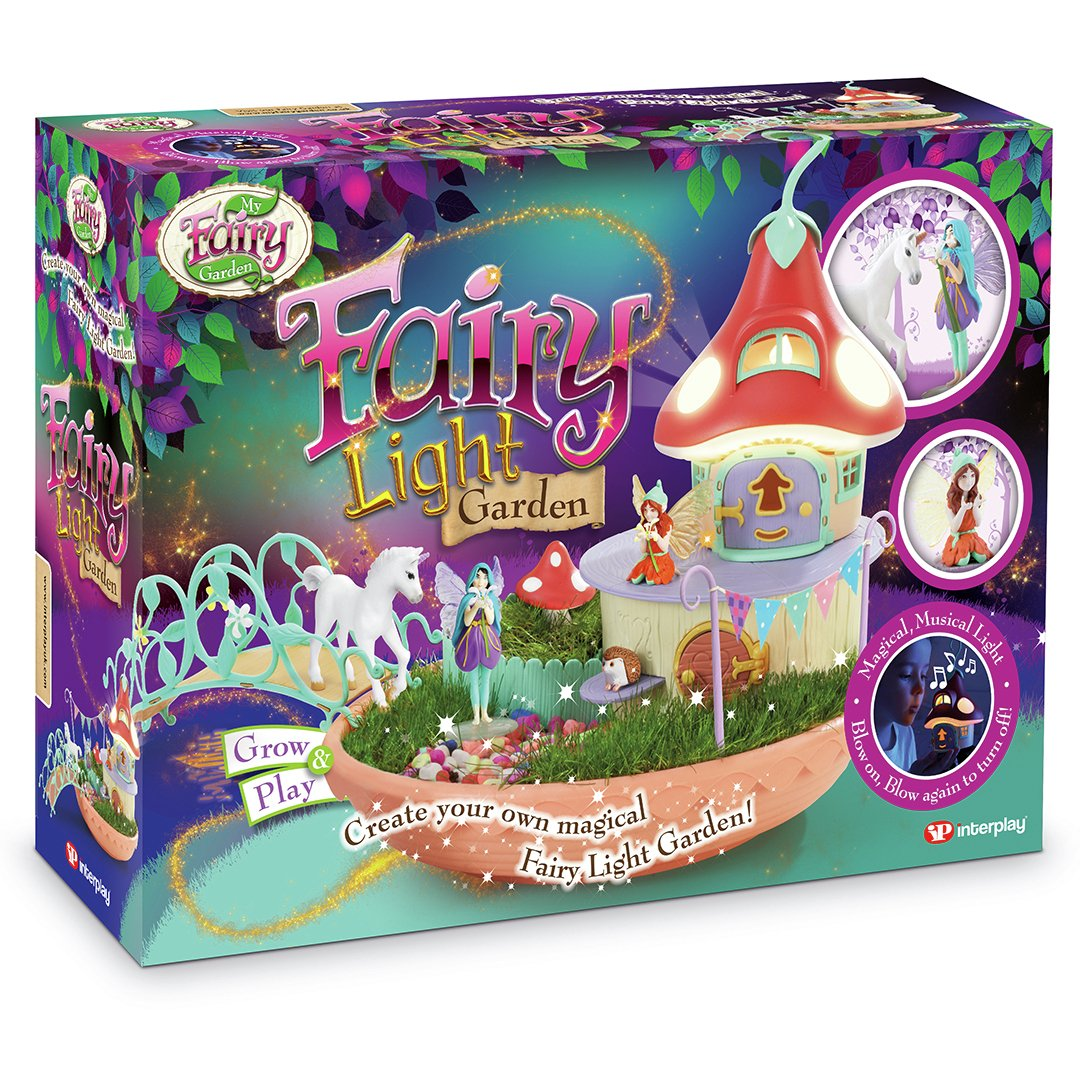 My Fairy Garden Fairy Light Garden Playset