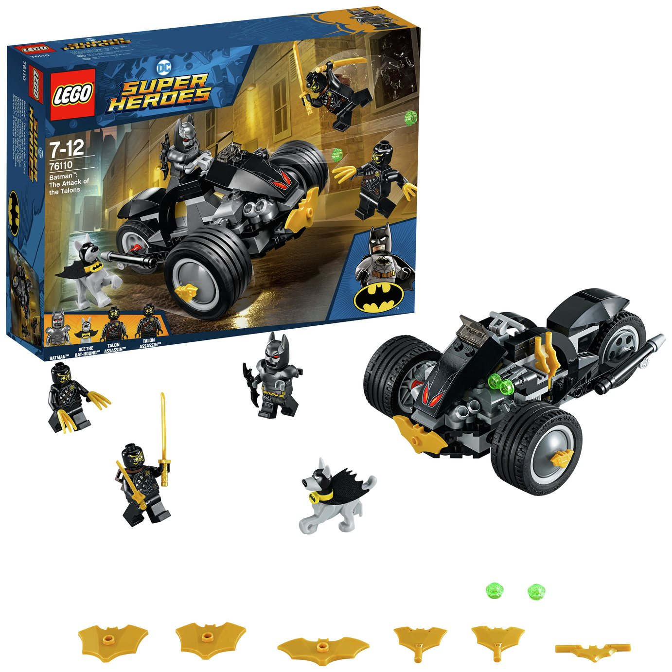 LEGO Super Heroes Batman Attack of the Talons - 76110