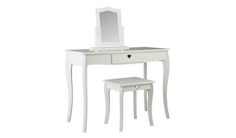 on sale fdfd9 f355c Buy Argos Home Mia White Dressing Table | Kids dressing tables | Argos