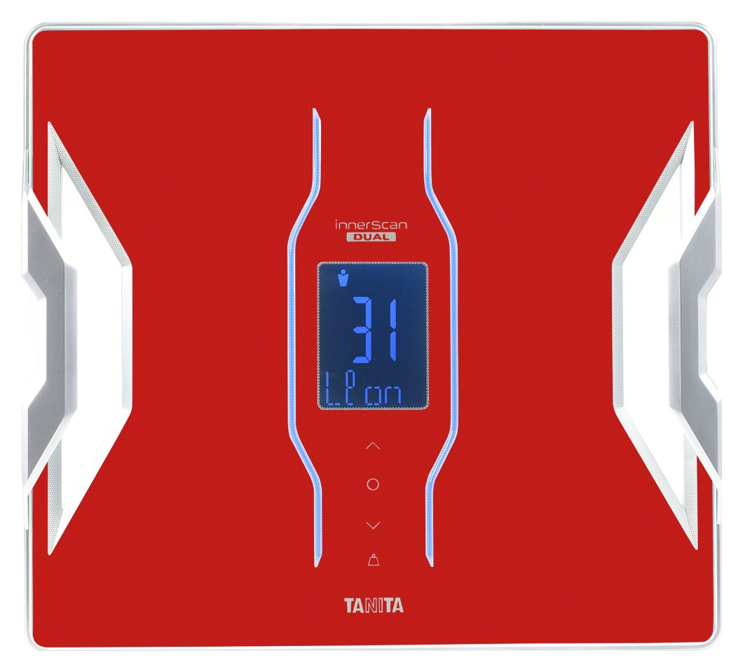 Tanita RD-953 Smart Connect Body Composition Monitor - Red