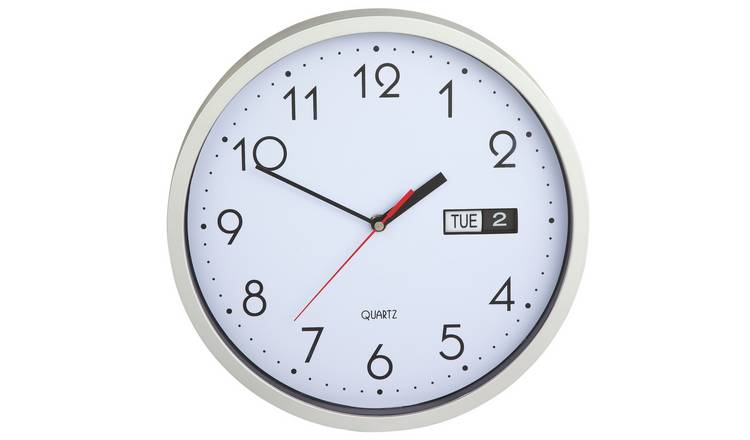 day and date clock for elderly argos