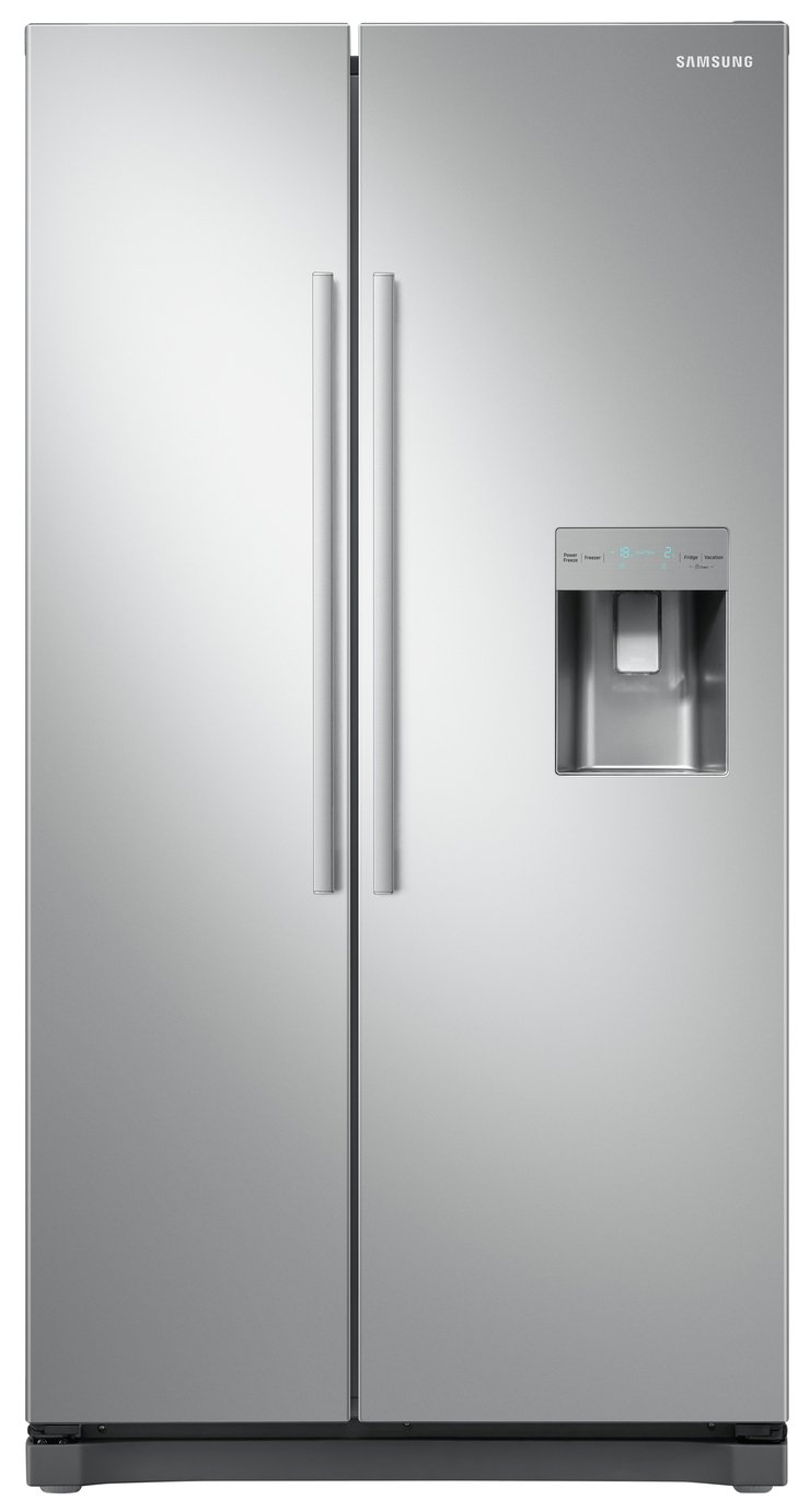 Samsung RS52N3313SA/EU American Fridge Freezer - Silver Best Price, Cheapest Prices