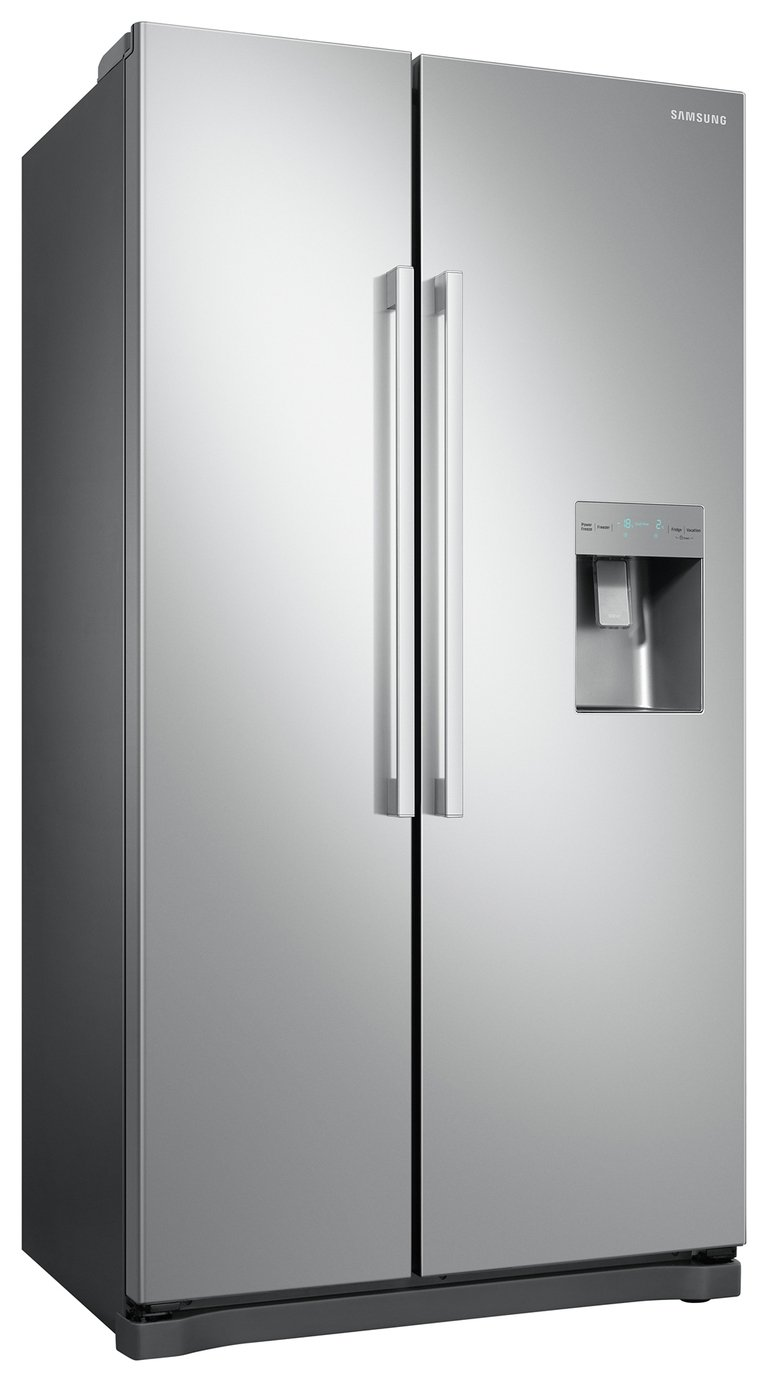 Samsung RS52N3313SA/EU American Fridge Freezer - Graphite