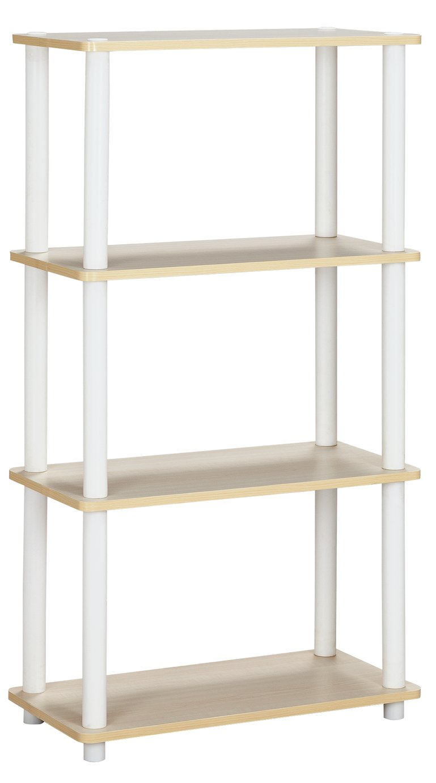 Argos Home New Verona 3 Shelf Bookcase - Light Wood Effect