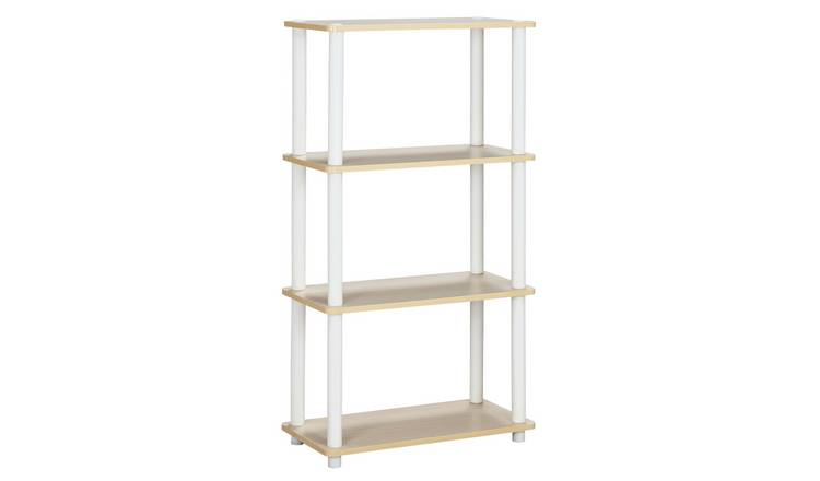 Argos Home New Verona 3 Shelf Bookcase - Light Wood Effect