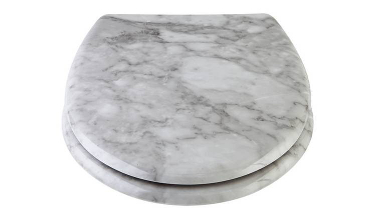 Stupendous Buy Argos Home Marble Design Toilet Seat White Toilet Seats Argos Gamerscity Chair Design For Home Gamerscityorg