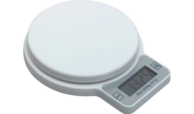 Argos Home Digital Kitchen Scale - White