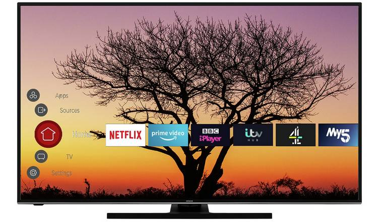 Hitachi 50 Inch 50HK6100U Smart 4K UHD HDR LED Freeview TV