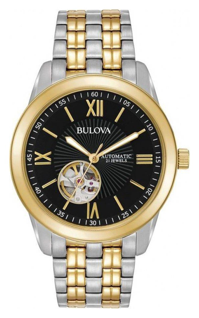 Bulova Men's Two Tone Stainless Steel Watch