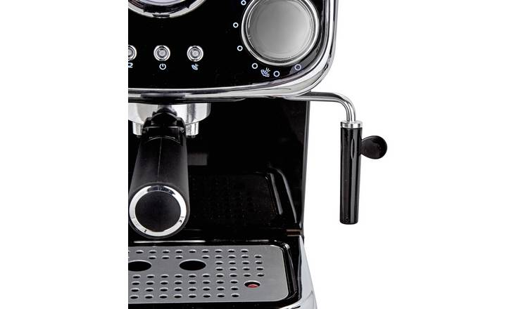 Details About Cookworks Cm5013b Gs Espresso Coffee Machine Removable Drip Tray Makes Clean Ups