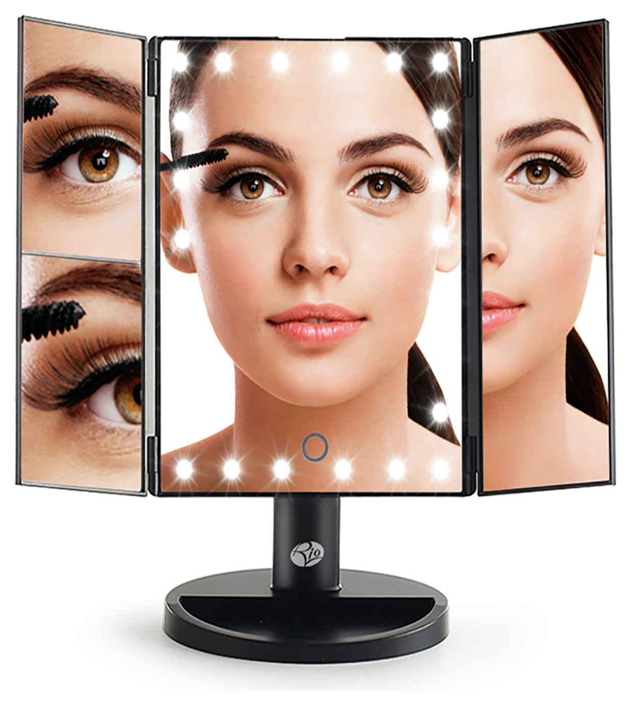 Rio 24 LED Touch Dimmable Make-up Mirror