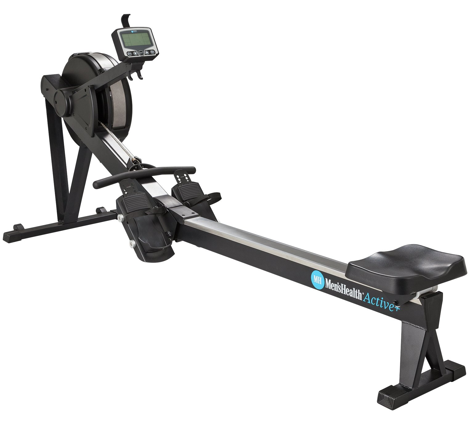 Men's Health Dual Resistance Air and Magnetic Rowing Machine