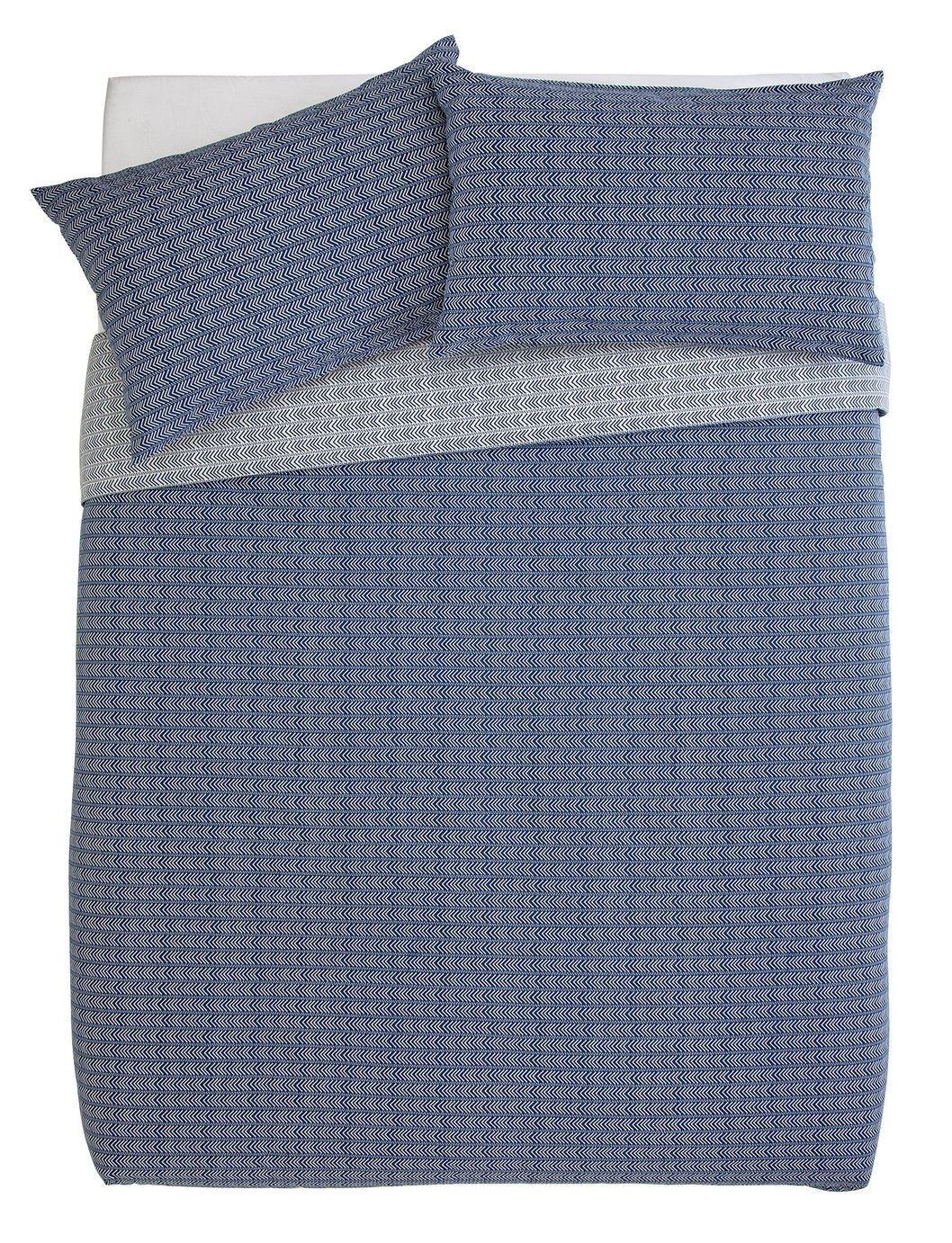 Argos Home Navy Arrow Bedding Set - Kingsize