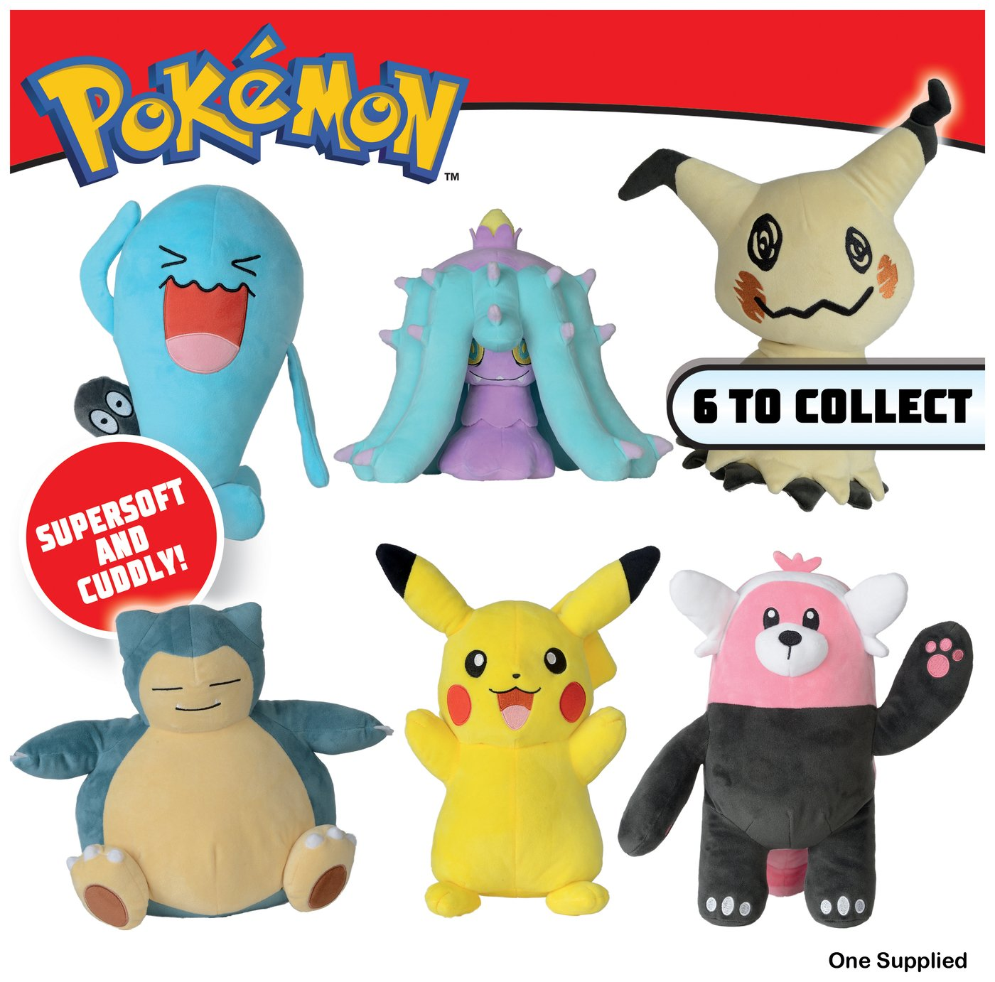 Pokemon 12 Inch Plush Assortment