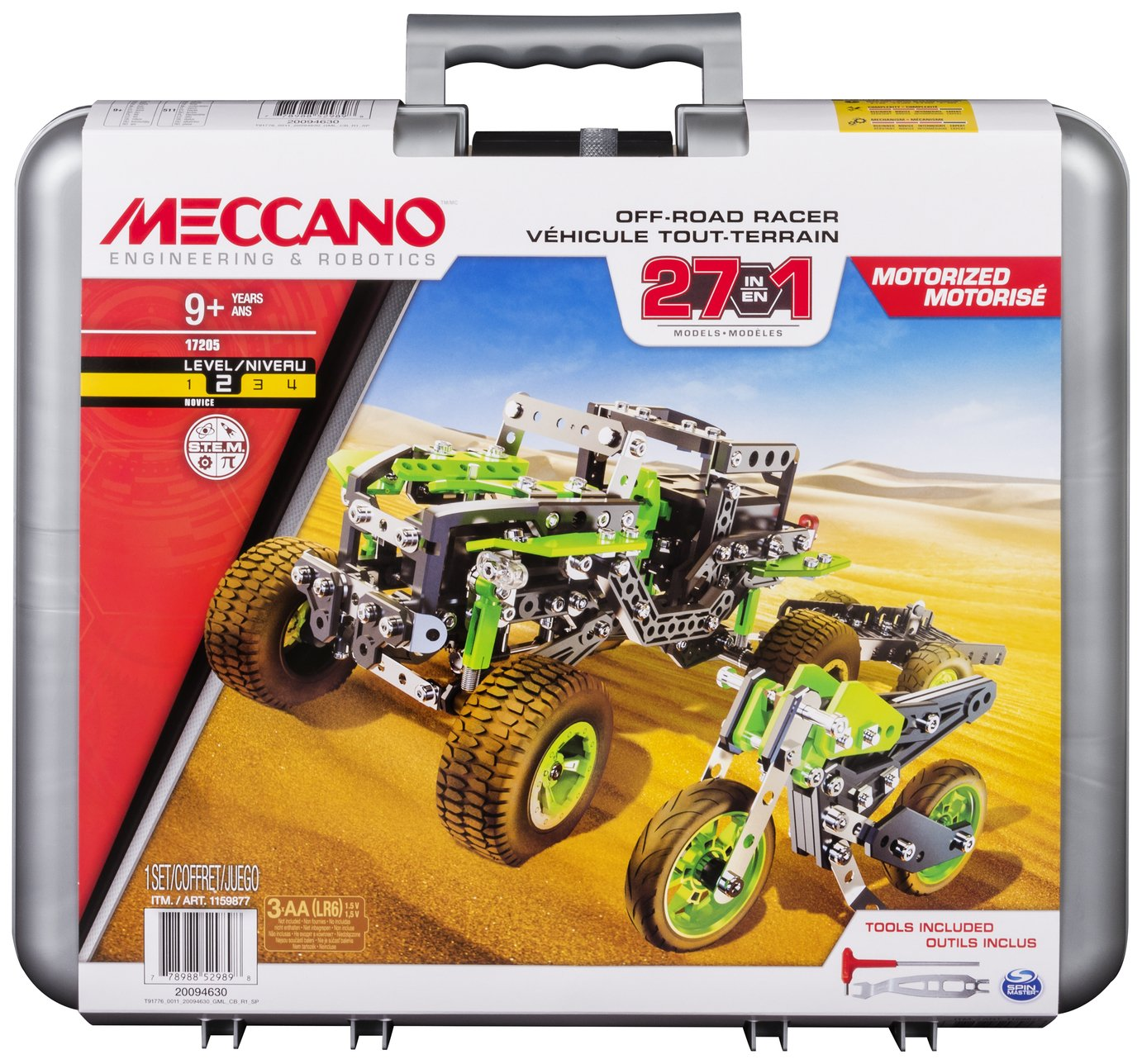 Image of Meccano 27-in-1 Off Road Racers