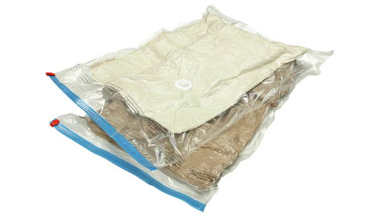 Protect & Store Mixed Vacuum Storage Bags 6 Piece Set