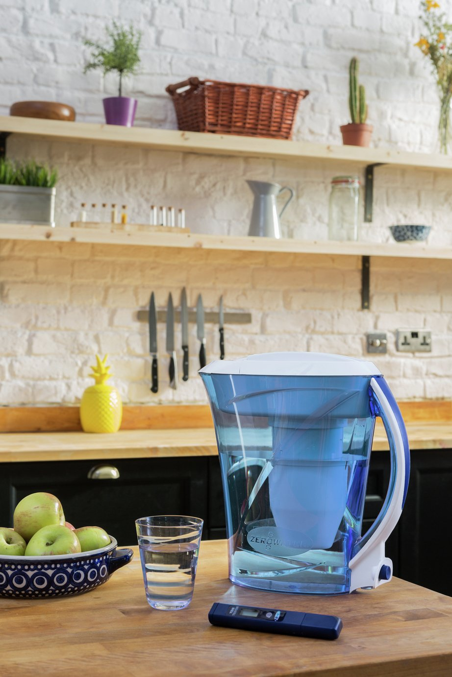 Zerowater 10 Cup Water Filter Jug - Blue