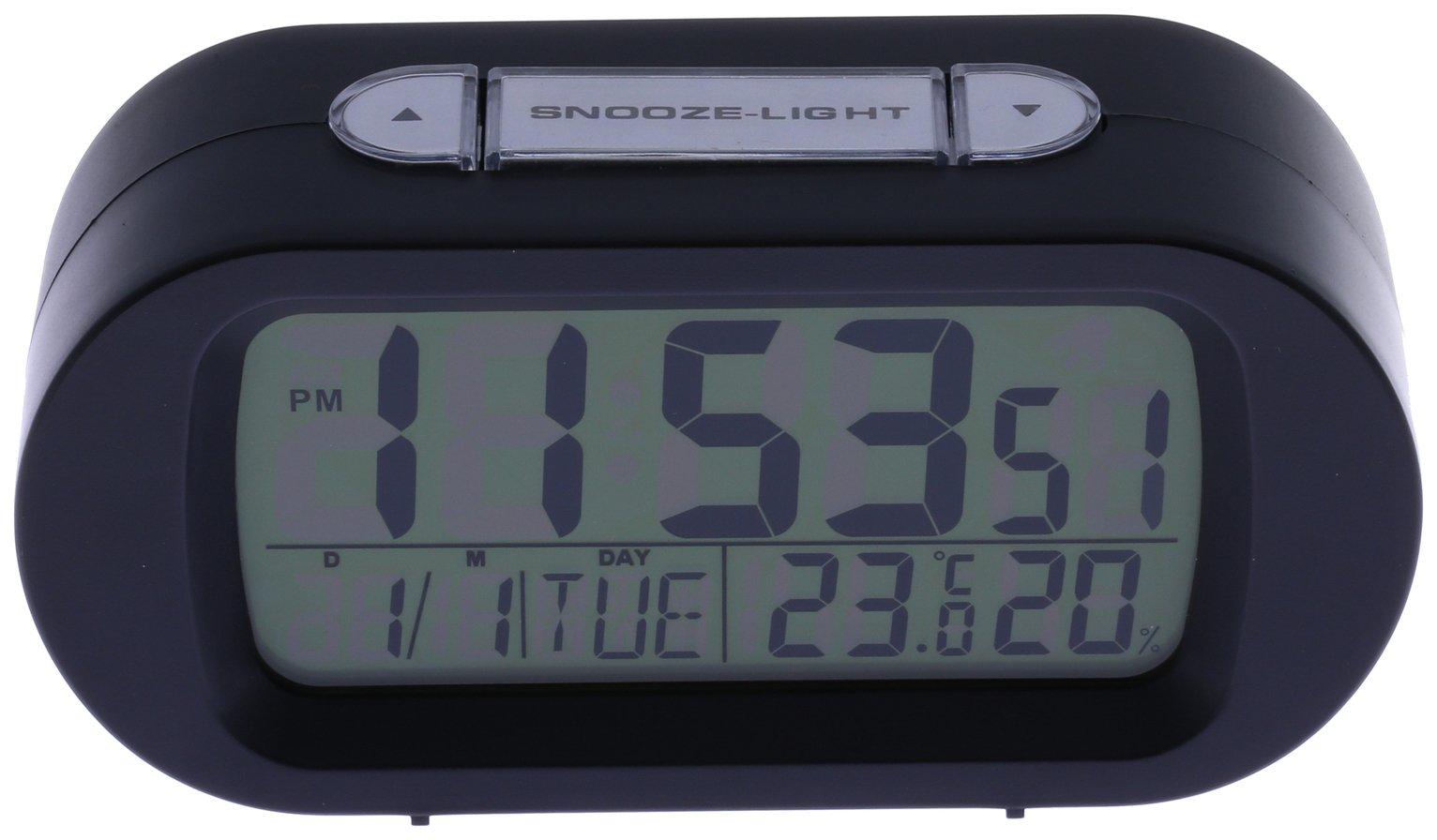 Constant Digital Alarm Clock - Black