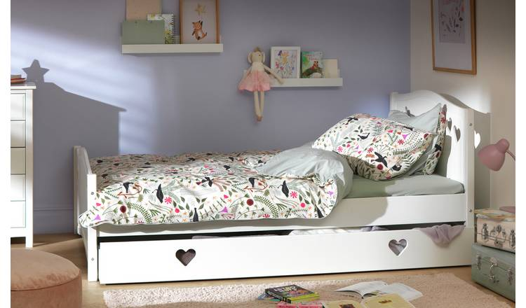 6d5174bf174b Buy Argos Home Mia White Small Double Bed with Drawer | Kids beds ...