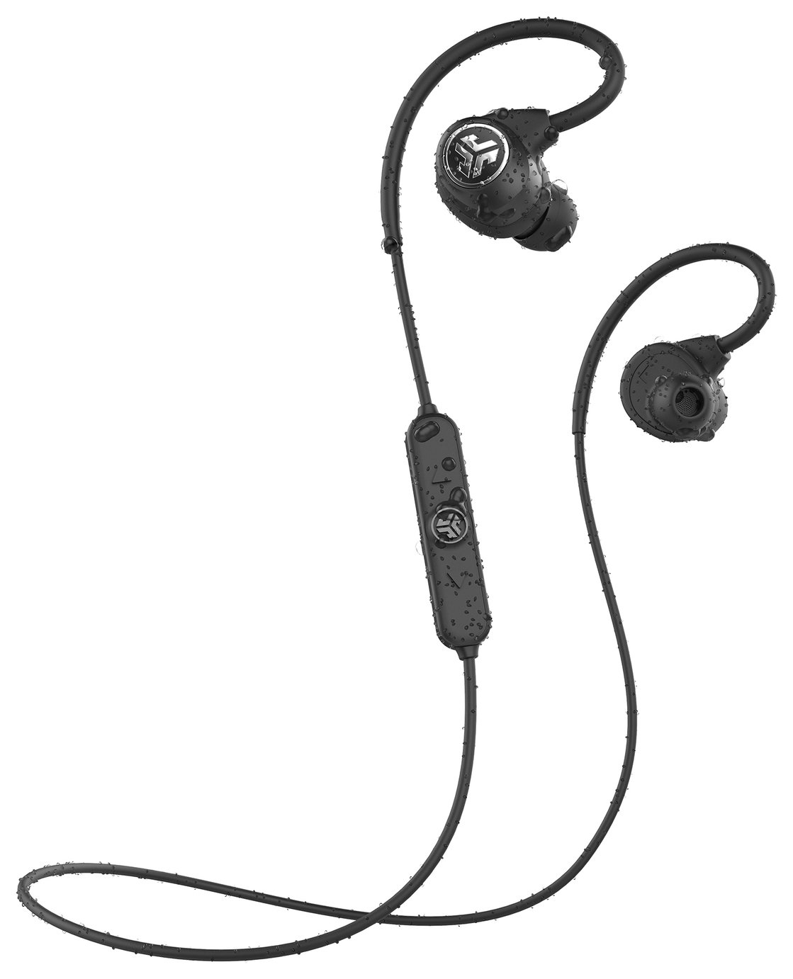 JLab Epic Sport Wireless In-Ear Sports Headphones - Black
