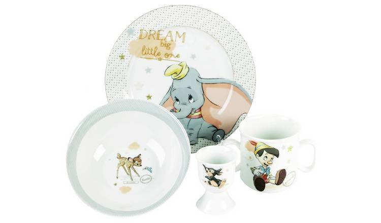 Disney Magical Bowl Plate Mug & Egg Cup