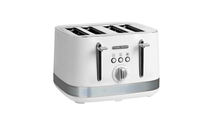 Morphy Richards 248021 Illumination 4 Slice Toaster - White