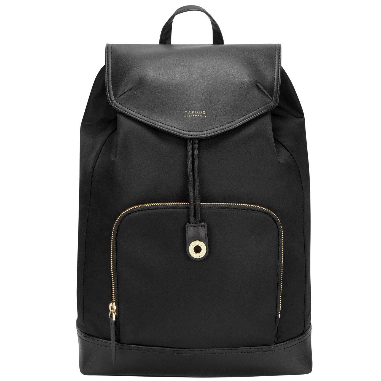 Targus Newport 15 Inch Drawstring Laptop Backpack - Black