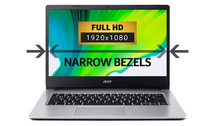 Acer Aspire 3 14in Ryzen 5 8GB 256GB FHD Laptop - Silver 0