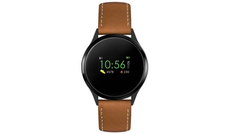 Reflex Active Smart Watch Tan Strap