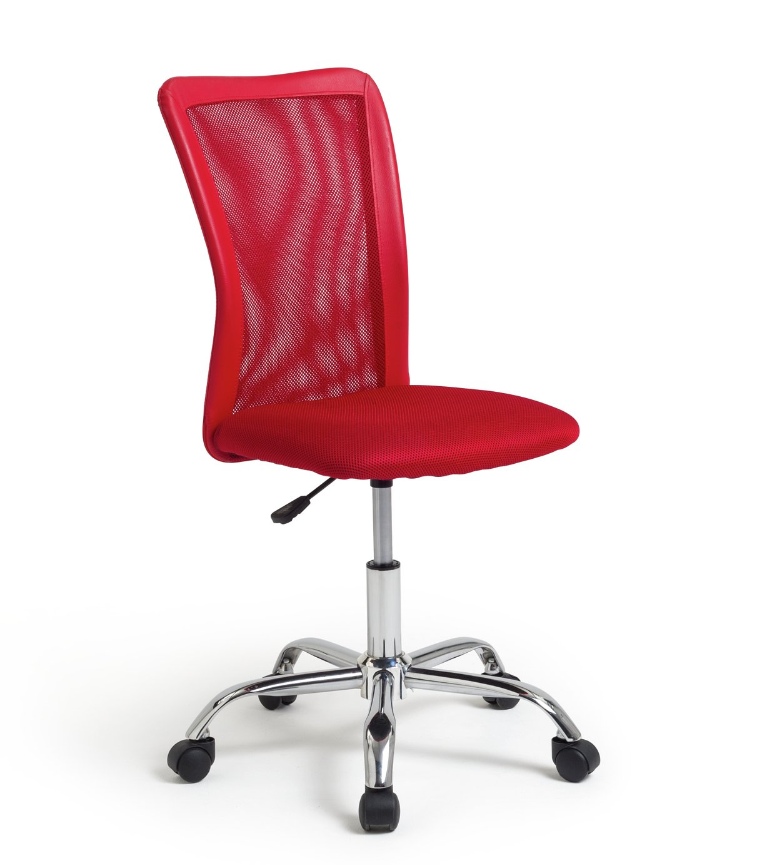 Habitat Reade Mesh Office Chair - Red