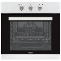 Bush BIBFOS Single Built-in Electric Oven - Stainless Steel