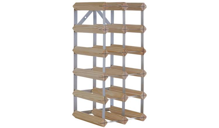 Argos Home 15 Bottle Wooden Wine Rack