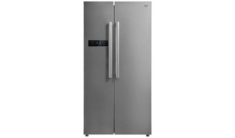 Bush MSBSNFSS American Fridge Freezer - Stainless Steel