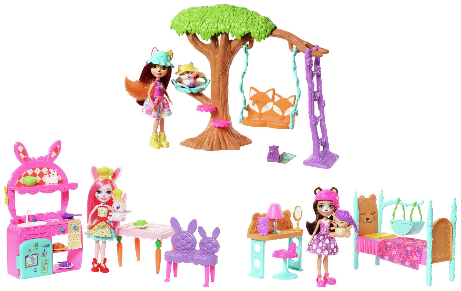 Enchantimals Dolls and Room Assortment