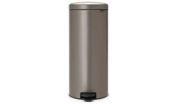 Brabantia New Icon 30 Litre Bin - Platinum