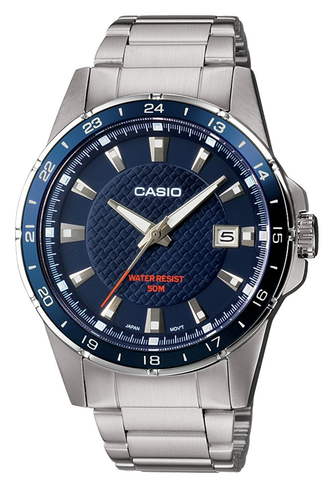 Casio Men's Silver Stainless Steel Bracelet Classic Watch