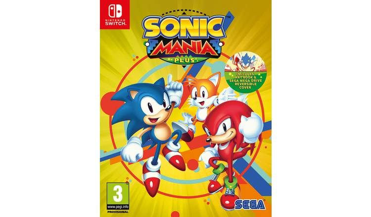 Sonic Mania Plus Nintendo Switch Game
