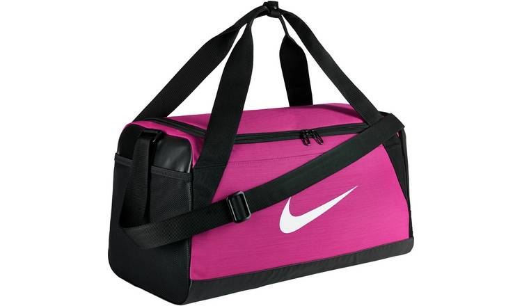 93eafd9345413e Buy Nike Brasilia Small Holdall - Pink | Limited stock Sports and ...