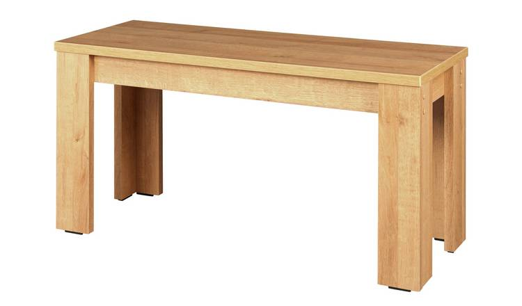 Argos Home Miami Dining Bench - Oak Effect