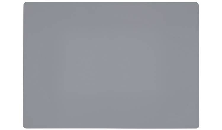 Argos Home Set of 4 Grey Placemats