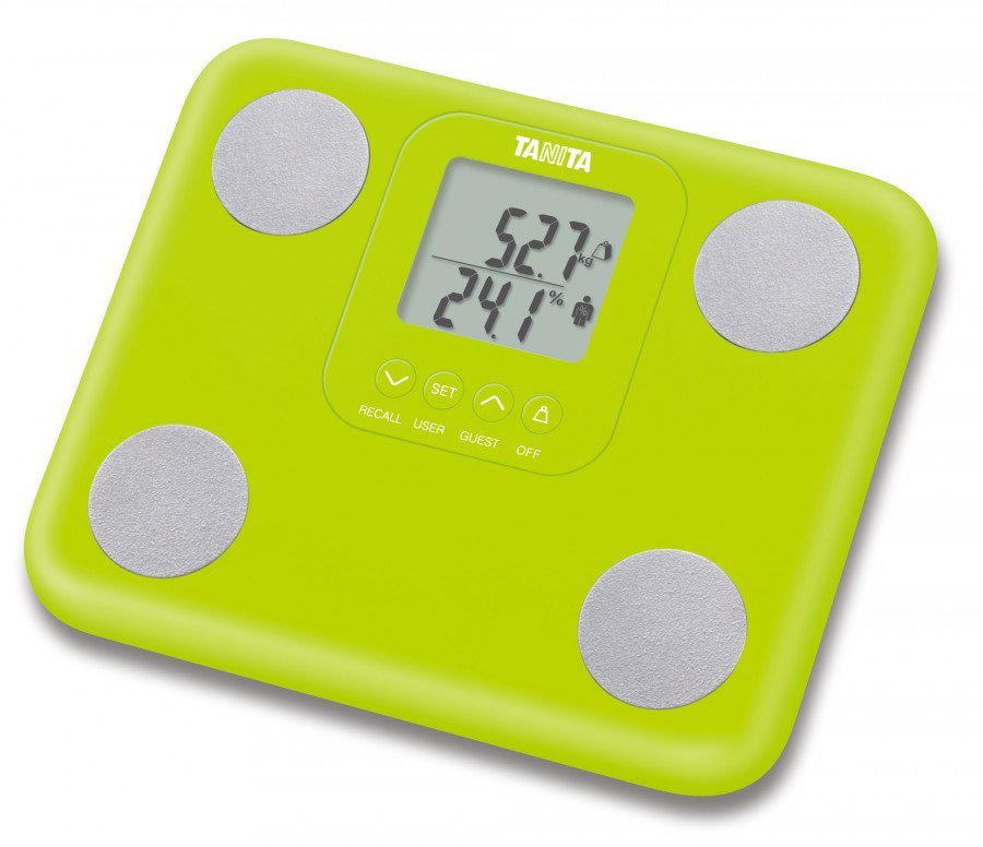 Tanita BC730 Body Composition Monitor Scales - Green