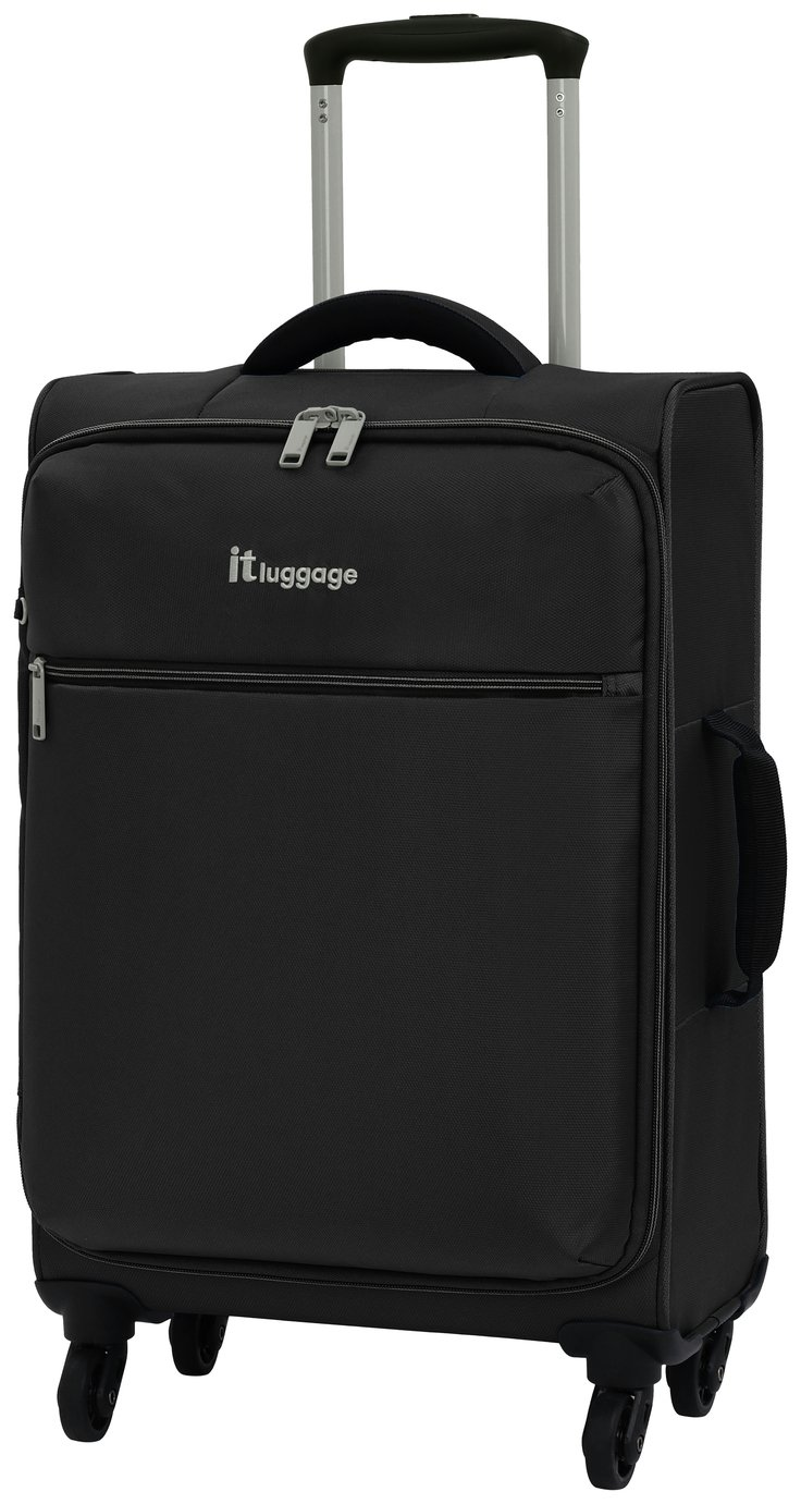 Buy It Luggage The Lite 4 Wheel Soft Cabin Suitcase Black