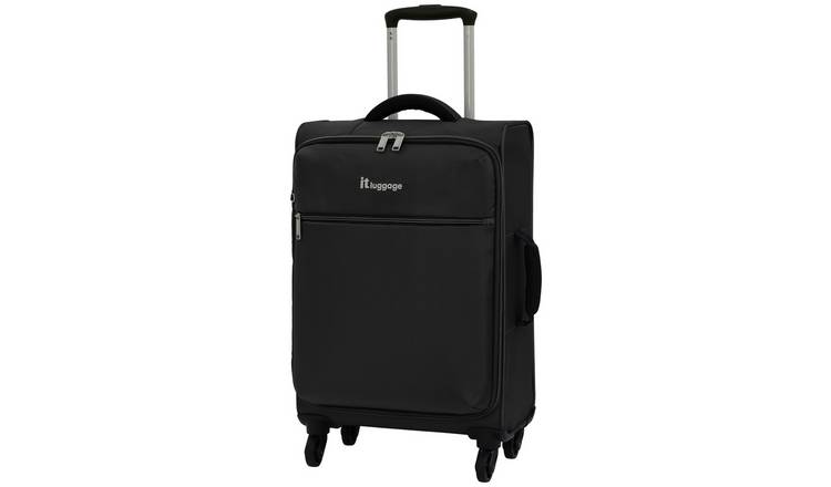 it Luggage The Lite 4 Wheel Soft Cabin Suitcase - Black