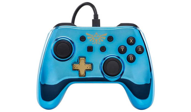 Buy Wired Controller for Nintendo Switch - Chrome Zelda | Video games and  consoles | Argos