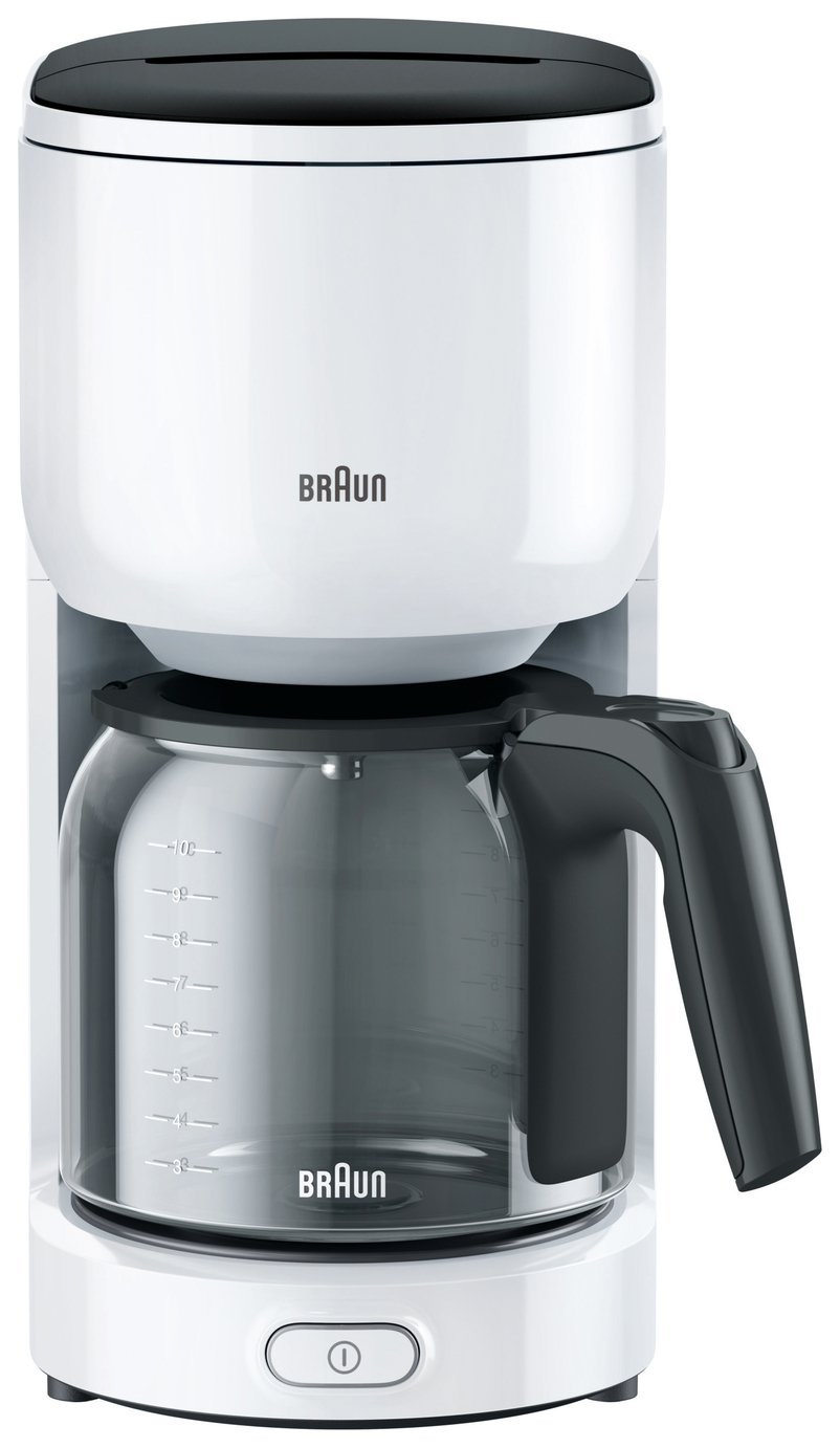 Braun KF3120WH Series 300 Filter Coffee Machine