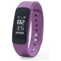 Nuband Flash Heart Rate Activity & Sleep Tracker - Plum